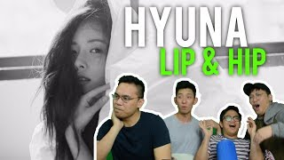 "hot damn... HYUNA flaunts her ""LIP & HIP"" (MV & MMA Reaction)"