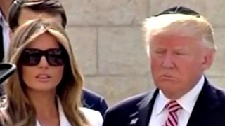 President Trump Visits the Western Wall with Melania & Ivanka