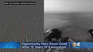 Ferocious Dust Storm Dooms Mars Rover 'Opportunity' After 15 Years On Red Planet