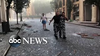 Survivors of the Beirut explosion recount feeling the blast, its horrific aftermath