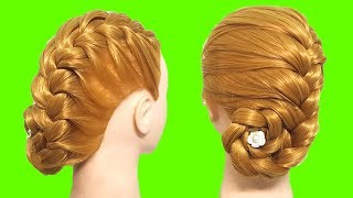 Simple Bun Hairstyle For Long Hair Tutorial 🌺🍃 Juda Style 🍂 Hair Style Girl  Do it Yourself