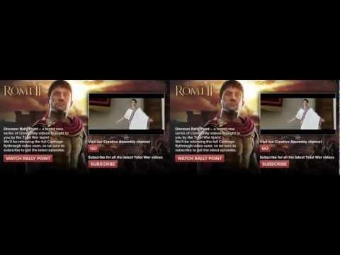 Total War- Rome II in 3D