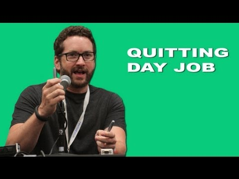 Rooster Teeth's Burnie Burns: Quitting Day Job - YouTube