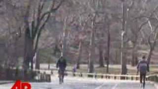 Icy Cold Weather Hits New York City