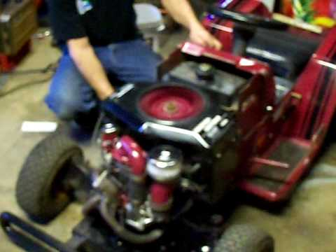 Completed Turbo Charged Racing Lawn Mower Youtube