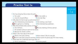 اجابات practice test 1 A ورك بوك الثالث الثانوي 2019