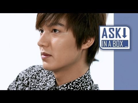 ASK IN A BOX: Lee Min Ho(이민호)_My Everything(마이 에브리싱) [ENG SUB]