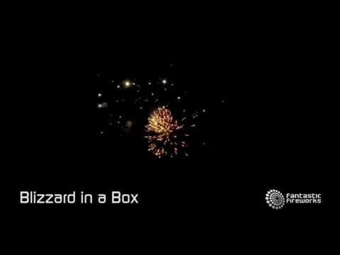 Fantastic Fireworks Blizzard In A Box - 180 shot firework