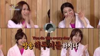 Happy Together - Suzi & Fei of Miss A, Eunji of A Pink, & Minah of Girl's Day! (2013.12.04)
