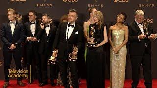 69th Emmys: Black Mirror: San Junipero Press Room Interview