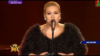 "Imitadora de Adele interpretó ""Someone like you"" para llegar a la Gran Final"