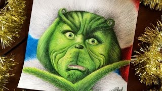 SPEED DRAWING: The Grinch