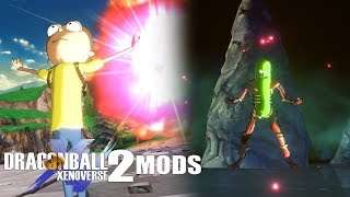 IT'S CALLED A MOD, MORTY. RICK AND MORTY IN XENOVERSE 2! Dragon Ball Xenoverse 2 Mods