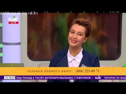 Запис авторського проекту Сніжани Єгорової «GOROD S» на Телеканал «Київ».