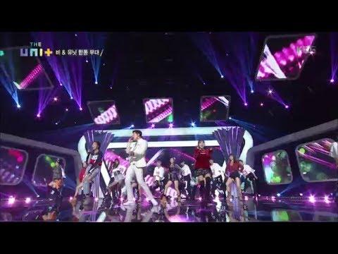 더 유닛 The Unit -  비 & 유닛 합동무대 Sunshine.20171202