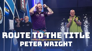 Route to the Title | Peter Wright | 2019/20 World Championship
