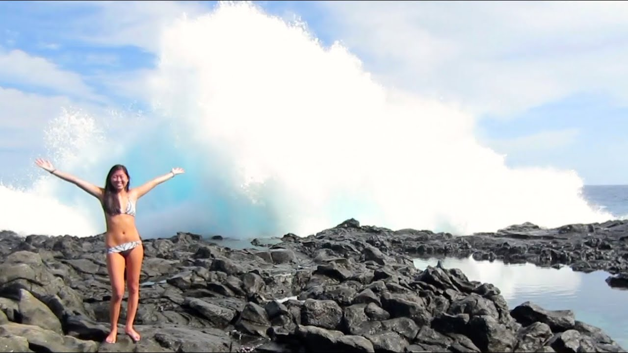 Local Hawaii Tide Pool Hike Life After College Vlog Ep