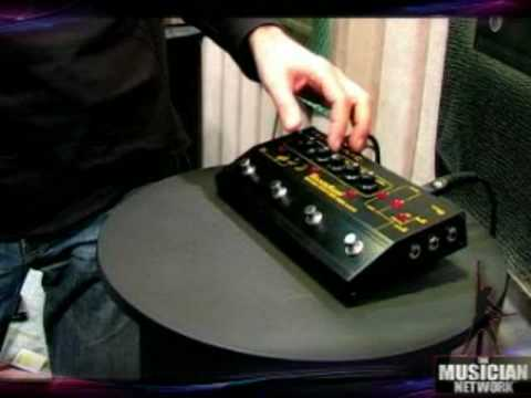 TMNTV - NAMM 2008 - Tech21 [pt 2 of 2]