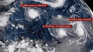 """Hurricane Florence forecast: """"Little in the atmosphere"""" to slow storm"""