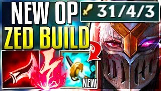 (NEW ITEM) STORMRAZOR MAKES ZED UNSTOPPABLE! HOW DO YOU FIGHT THIS? - League of Legends