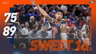 Kansas vs. Auburn: Second round NCAA tournament extended highlights