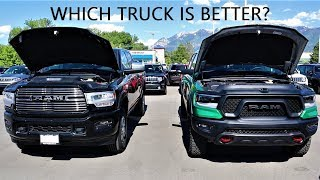 2019 Ram 1500 Vs 2019 Ram 2500/3500: Which Ram Should You Buy?