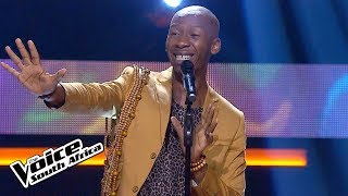 Sabelo Mthembu – 'Waiting On The World To Change'   KnockOuts   The Voice SA   M-Net
