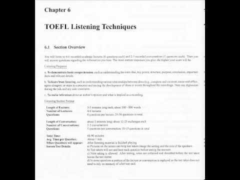 TOEFL Prep Philadelphia - Philadelphia TOEFL Class - Manhattan Elite Prep - TOEFL - Listening