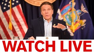 NY Gov. Cuomo briefing - gym reopening guidelines expected