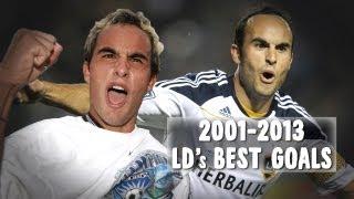 The Best Goals from Landon Donovan | 13 Years, 13 Goals