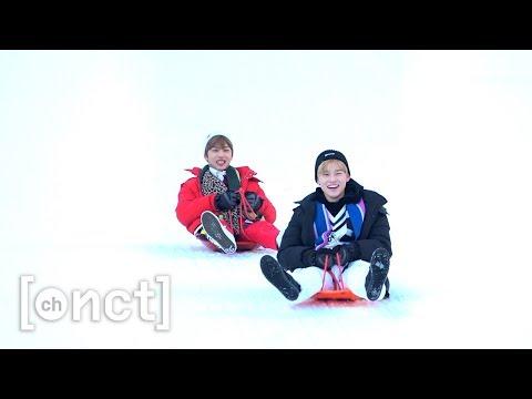 눈썰매 타러 레고레고~! (Let's go for snow sledding) | 천지의 이것저것 Ep.5