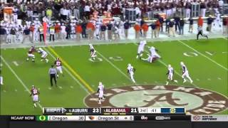 The Iron Bowl 2014 - #1 Alabama vs. #15 Auburn (Highlights)