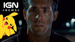 Ryan Reynolds Will Voice Pikachu in Live-Action Movie - IGN News
