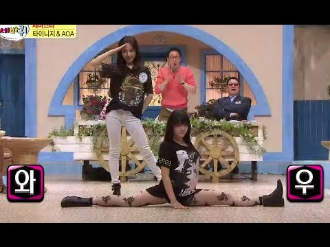[HOT] 세바퀴 - 핫한 신인 아이돌 대결! 타이니지 vs AOA 댄스 배틀! 20140517
