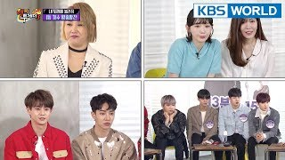 Happy Together I  해피투게더 - Wanna One, Kim Kyungho, Highlight, Kim Taewon, etc. [ENG/2018.04.05]