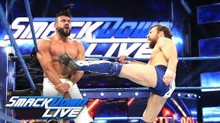 """Daniel Bryan vs. Andrade """"Cien"""" Almas: SmackDown LIVE, Sept. 4, 2018"""