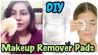 How to Make Makeup Remover Wipes at Home | Homemade Makeup Remover Pads | JSuper Kaur