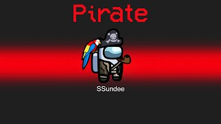PIRATE IMPOSTER MOD in Among Us