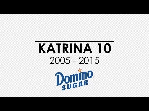 Domino Sugar celebrates the unbreakable spirit of New Orleans on 10th anniversary of Hurricane Katrina. Domino Sugar's Chalmette Refinery in St. Bernard Parish endured the storm and rebuilt stronger.
