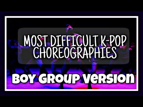 35 MOST DIFFICULT K-POP CHOREOGRAPHIES   BOY GROUP VER