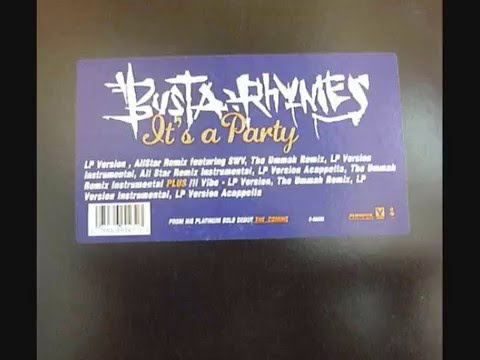 Busta Rhymes feat. Zhane -- It's A Party instrumental