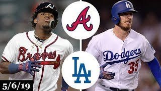 Atlanta Braves vs Los Angeles Dodgers Highlights | May 6, 2019