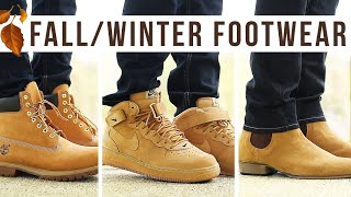TOP 10 BOOTS & SNEAKERS FOR FALL/WINTER | Men's Fashion Footwear | I AM RIO P.