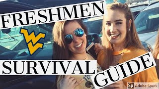 10 TIPS FOR INCOMING WVU FRESHMEN | How to Survive Morgantown