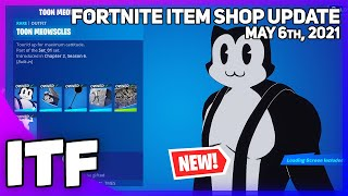 Fortnite Item Shop *NEW* TOON MEOWSCLES BUNDLE! [May 6th, 2021] (Fortnite Battle Royale)