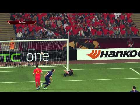 Pro Evolution Soccer 2015 PS4 60FPS HD Gameplay Compilation