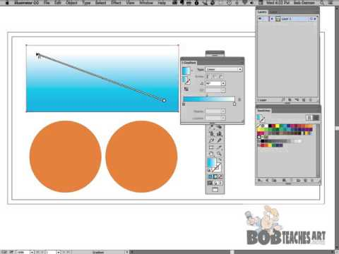 The Gradient Tool - Adobe Illustrator CC