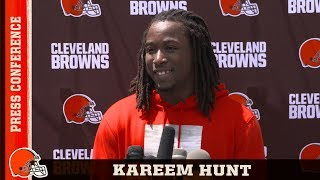 Kareem Hunt: My childhood dream was to play for the Browns   Cleveland Browns