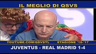 QSVS - I GOL DI JUVENTUS - REAL MADRID 1-4 TELELOMBARDIA / TOP CALCIO 24