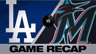 Big bats power Dodgers to 15-1 win | Dodgers-Marlins Game Highlights 8/13/19